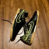 Nike Shoes | Nike. Shoes. Like New! Black With Neon Yellow. | Color: Black | Size: 7