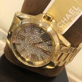 Michael Kors Accessories | Michael Kors ... Bradshaw Gold Watch | Color: Gold/Silver | Size: Os