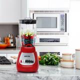 Better Chef Glass Countertop Blender in Red, Size 16.0 H x 6.0 W x 7.0 D in | Wayfair 950115669M