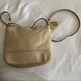 Coach Bags   Coach Park Mini Suede Duffle   Color: Cream/Tan   Size: 9 (L) X 8 14 (H) X 3 (W)