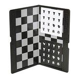 Board Games 7.87x6.69 inch Portable Travel Chess Set Foldable Chess with Magnetic Pieces Ultralight Mini Pocket Wallet Size Gifts for Youth Kids Adults Educational Board Games