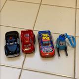Disney Toys | Disney Car Toy Set | Color: Black/Red | Size: One