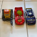Disney Toys | Disney Car Toy Set | Color: Red/Yellow | Size: One
