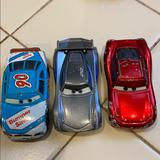 Disney Toys | Disney Car Toy Set Used For Collection,Metal Plast | Color: Blue/Red | Size: One