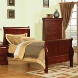 Alcott Hill® Ayalisse Sleigh Bed, Size 62.0 W x 90.0 D in | Wayfair 8BB787D217A344A283B1B16FA66F0711
