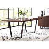 Kali Solid Wood Rectangular Dining Table in Isla Sunset - Modus 9KA260