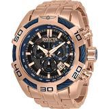 Invicta Reserve Men's 54mm Bolt Swiss Quartz Chronograph Stainless Steel Bracelet Watch 32747