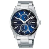 Lorus Men's Analog Watch with Multi Dial Display, Blue Dial & Stainless Steel Bracelet R3A59AX9