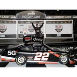 """""""Action Racing Austin Cindric 2021 NASCAR Xfinity Series Beef. It's What's For Dinner. 300 Race Win 1:24 Die-Cast Car"""""""