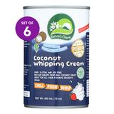 NATURES CHARM Frosting - Coconut Whipping Cream - Set of Six
