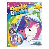 American Crafts Craft Kits - Pink & White Unicorn Deluxe Suncatcher Craft Kit