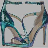 Jessica Simpson Shoes | Iridescent Heels | Color: Blue/Green | Size: 7