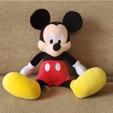 Disney Toys | Mickey Mouse Plush Stuffed Toy Animal Disney Park | Color: Black/Red | Size: Osbb