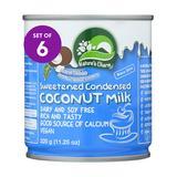 NATURES CHARM Milk & Milk Substitutes - Sweetened Condensed Coconut Milk - Set of Six