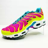 Nike Shoes | 7y | 8.5 Women'S Nike Air Max Plus Cw5840-700 | Color: Green/Pink | Size: Us 8.5