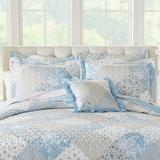 Patchwork Sham by BrylaneHome in Light Blue (Size STAND)
