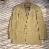 Gucci Suits & Blazers | Gucci Silk Sports Jacket | Color: Green/Yellow | Size: 44r