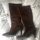 Nine West Shoes | Nine West Knee High Brown Boots | Color: Brown | Size: 8.5