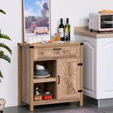 Laurel Foundry Modern Farmhouse® Lillian 1 Door Accent Cabinet Wood in Brown, Size 32.75 H x 30.0 W x 15.25 D in   Wayfair