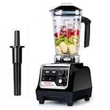 2200W Professional Blenders for Kitchen, VOVOLY Countertop Blender, High Speed Food Processor Blender with Speed & Timer Control, For Shake, Smoothie, Ice, Juice, 68 OZ, Black