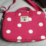 Pink Victoria's Secret Other | Pink Laptop Case | Color: Pink/White | Size: Os