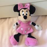 Disney Toys   10 Minnie Mouse - Stuffed Toy (1)   Color: Pink/White   Size: Osbb