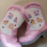 Disney Shoes   Disney Light Up Cowboy Boots   Color: Pink/White   Size: 6bb