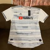Adidas Shirts | Adidas Los Angels Fc Soccer Jersey(New)Mens Xl & L | Color: White | Size: Various