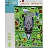Charley Harper: Secret Sanctuary 500-Piece Jigsaw Puzzle (Pomegranate Artpiece Puzzle) by Unknown(1999-04-19)