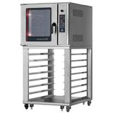 Turbo Air RBCO-N1U Radiance Single Full Size Electric Convection Oven - 8kW, 220v/3ph