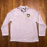 Adidas Jackets & Coats | Adidas Nhl Pittsburgh Penguins Pullover Fleece Xl | Color: Gray/Silver | Size: Xl