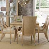"""Hooker Furniture 5940-75200-80 Lobitos 82"""" Wide Luxury Coastal Dining Table w/ (1) 20"""" Leaf from"""