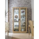 """Hooker Furniture 5940-75906-80 Ano Nuevo 46"""" Wide Luxury Coastal Hutch Style Display Cabinet from"""