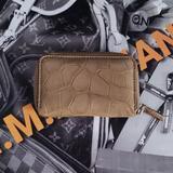 Gucci Bags | Gucci Genuine Crocodile Zippy Card Case | Color: Tan | Size: Os