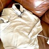 Pink Victoria's Secret Tops | Grey Sherpa Lined Pink Sweatshirt | Color: Gray | Size: S