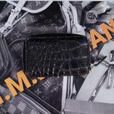 Gucci Bags | Gucci Genuine Crocodile Zippy Card Case | Color: Black | Size: Os