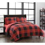 Gracie Oaks Aamar Reversible Comforter Set Polyester/Polyfill/Microfiber in Black, Size King Comforter + 6 Additional Pieces   Wayfair