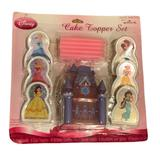 Disney Party Supplies   Disney Princess Cake Topper Set   Color: White   Size: Os