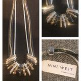 Nine West Jewelry | Nine West Necklace Nwt | Color: Gold/Silver | Size: Os