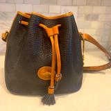 Dooney & Bourke Bags   Dooney & Bourke Bucket Bag   Color: Black   Size: 10 Inches Wide By 10 Inches Tall