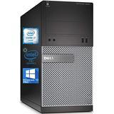 Dell Optiplex 3020 Mini-Tower Desktop PC, Intel Quad-Core i7-4765T Upto 3.0 GHz, 16GB RAM, 1TB SSD, AMD Radeon R5 340 2GB, DVD, DisplayPort, DVI, HDMI, Wi-Fi, Bluetooth - Windows 10 Pro (Renewed)