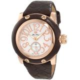 Glam Rock Women's GR40044 Palm Beach White Mother-of-Pearl Dial Watch