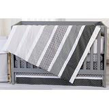 Trend Lab Ombre Gray Crib Bedding Collection