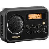Sangean SG-104 Portable AM/FM Digital Alarm Clock Radio SG-104