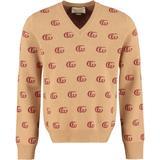 GG Jacquard Sweater - Brown - Gucci Knitwear