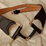 Gucci Accessories   Gucci Leather Horsebit Buckle Belt   Color: Black/Gold   Size: Os