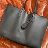 Burberry Bags | Authentic Burberry Haymarket Reversible Large Tote | Color: Black/Tan | Size: Os