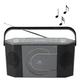 soundmaster RCD1770AN CD-Player silber, schwarz