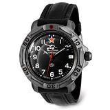 VOSTOK   Komandirskie 816306 Tank Commander Russian Military Mechanical Wrist Watch   WR 20 m   Fashion   Business   Casual Men's Watches   Leather Band B