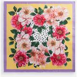 Camellia-print Twill Foulard (90 X 90) - Pink - Dolce & Gabbana Scarves